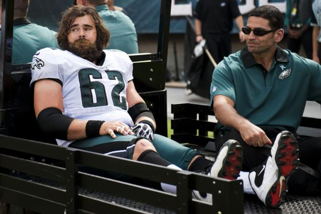Jason Kelce Not Ruled out for the Year, and More NFC East News