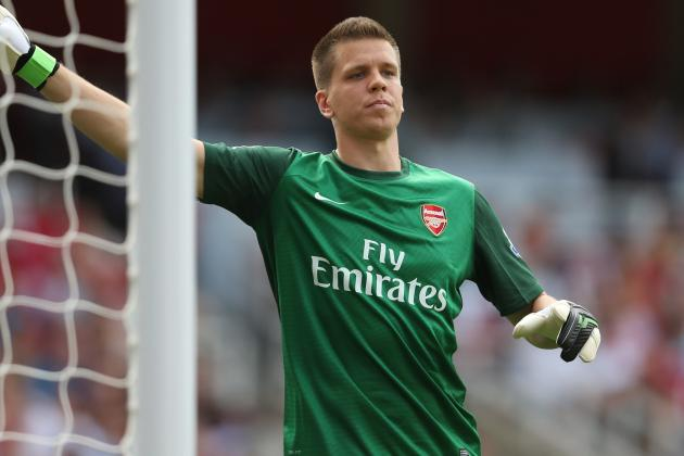 Arsenal's Wojciech Szczesny Ruled out of Montpellier Clash