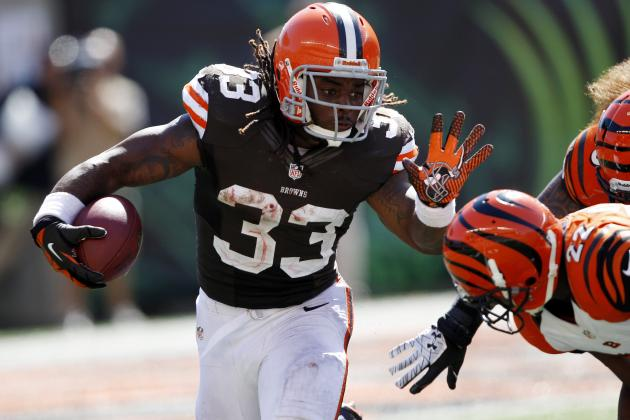 2012 Fantasy Football Week 3: Running Backs (RB) Rankings / Projections