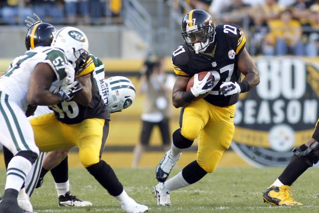 Pittsburgh Steelers Used to Have a Bus, Now They Have a Diesel: Jonathan Dwyer