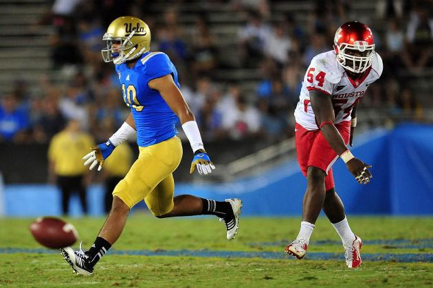 UCLA Football: Was UCLA's Offense Playing Peek-a-Boo Against Houston?