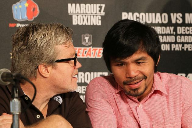 Manny Pacquiao: Freddie Roach Says His Man Needs a Knockout to Beat Marquez