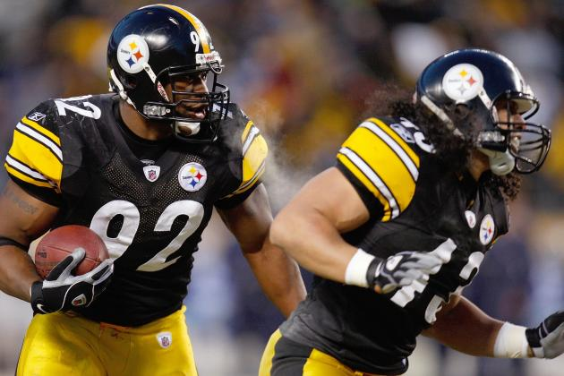 James Harrison, Troy Polamalu Will Be Evaluated Daily