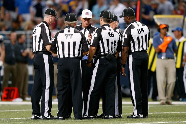 NFL Replacement Referee Application (Please Forward to Commissioner Goodell)