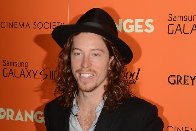 Shaun White Sorry for Poor Behavior