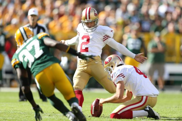2012 Fantasy Football Kicker Rankings: NFL Week 3