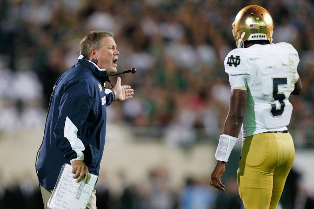 Notre Dame Football: Good Feelings Will End for Irish in Loss to Michigan