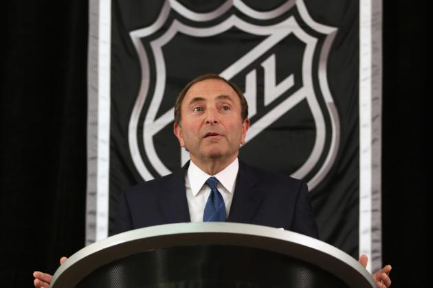 NHL and Players Appear Deeply Divided on Contract Issues