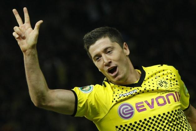 Champions League: Lewandowski's Late Goal Powers Dortmund to 1-0 Win