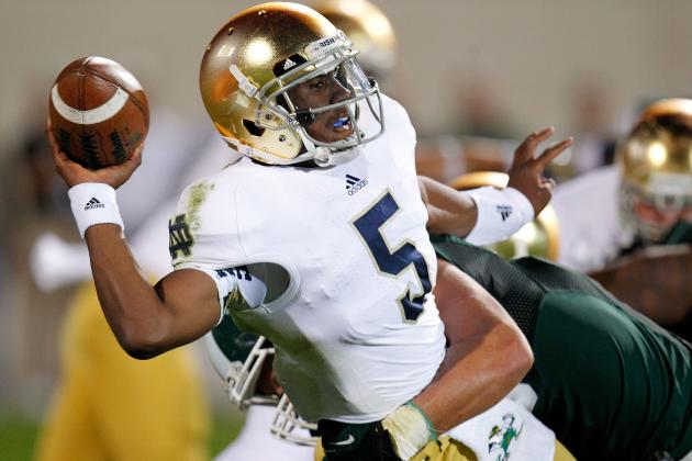 College Football Rankings 2012: Over-Ranked Teams in Trouble This Weekend
