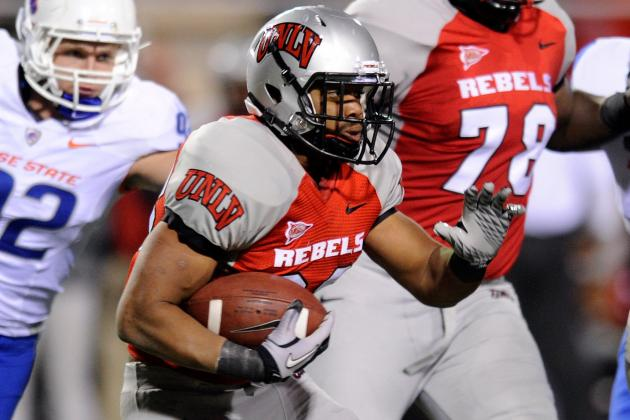 Bradford Again Leaves UNLV Football Team; Another Player Suspended One Game