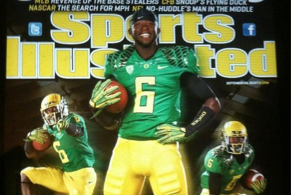 Oregon Ducks' De'Anthony Thomas on the Cover of Sports ...