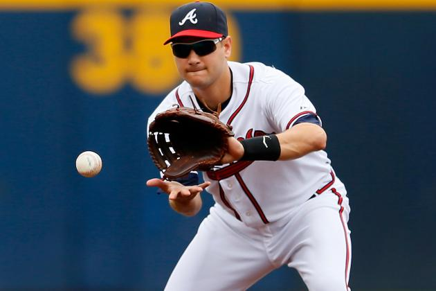 Braves SS Paul Janish Leaves Game in Miami with Dislocated Left Shoulder