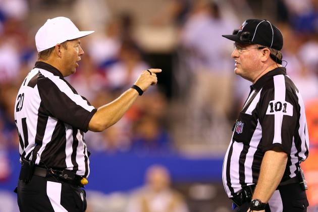 2012 NFL Season: Blame the League 1st, Referees 2nd