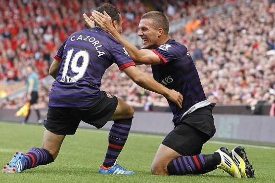 Lukas Podolski and Santi Cazorla Will Lead Arsenal to Silverware This Season