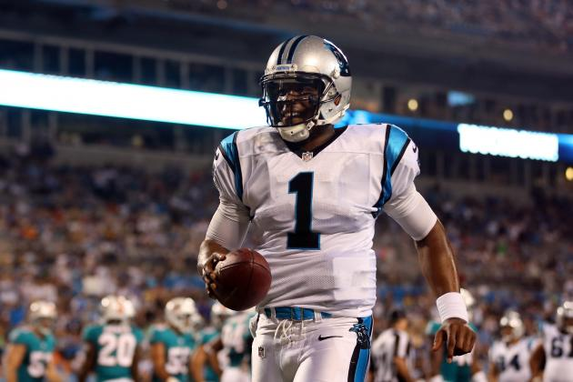Panthers Shine When Newton Runs Well and Gets Help, and More NFC South News