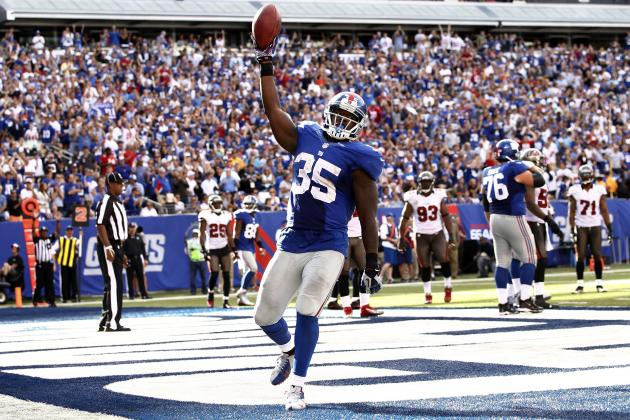 Andre Brown: Fantasy Owners Shouldn't Expect Epic Game from Giants RB in Week 3