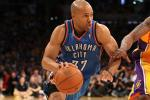 Free Agent Derek Fisher Works Out with Lakers