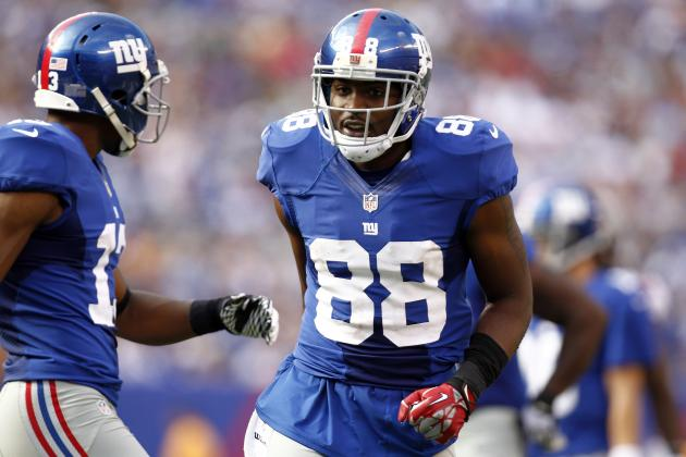 Giants' Hakeem Nicks Named NFC Offensive Player of the Week