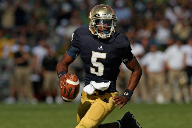 Everett Golson Will Keep Notre Dame Rolling Against Michigan