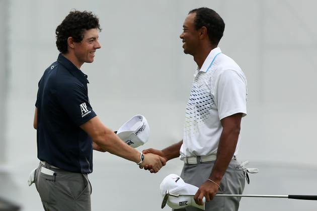 Tiger Woods Names Rory McIlroy 'The Intimidator' in Response to Greg Norman