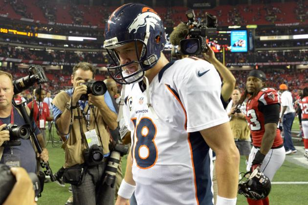 Peyton Manning Makes No Excuses for Interceptions, and Other AFC West News