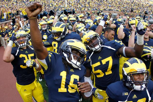 And in That Corner… the Michigan Wolverines