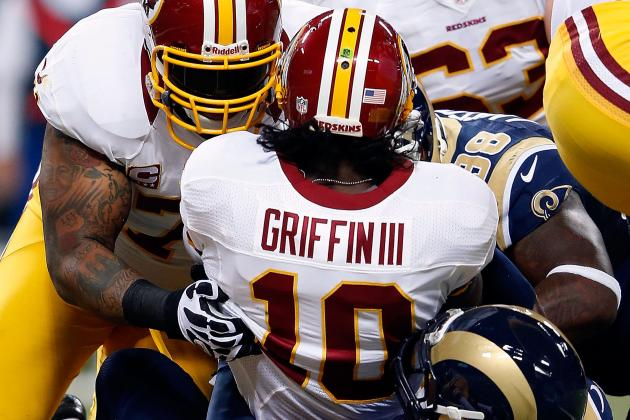 Washington Redskins: Examining Why Robert Griffin III Is Taking so Many Hits