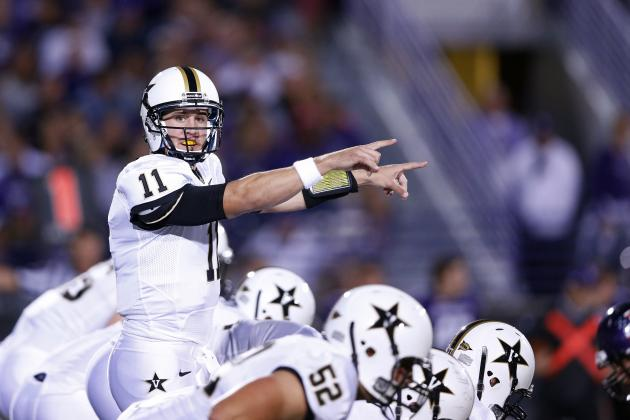 Vanderbilt Football: Is Jordan Rodgers Benched for Good?