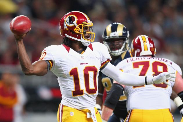 Robert Griffin III: Predictions for Redskins Star vs. Bengals in Week 3