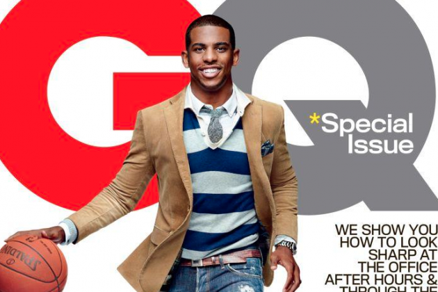CP3 Dons Cover of GQ