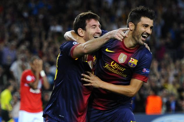 Messi Double Gives Barca Comeback Win Against Spartak