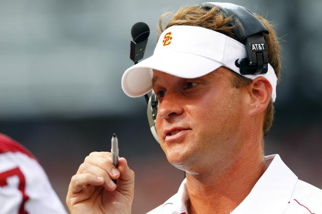 Kiffin Leaves Press Conf. Mid-Question