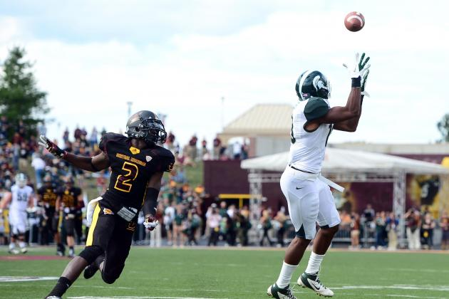 Mark Dantonio on Michigan State's Receivers: 'Settle Down and Catch the Ball'