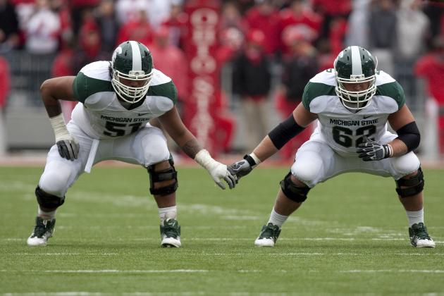 With Fou Fonoti's Season in Doubt, Skyler Burkland Must Step Up at RT for Sparty