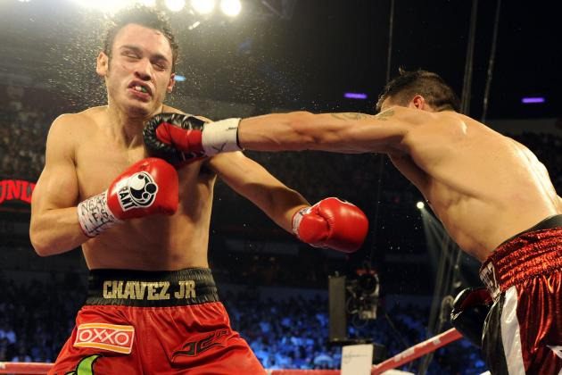 Julio Cesar Chavez Jr. Tests Positive for Drugs After Sergio Martinez Fight