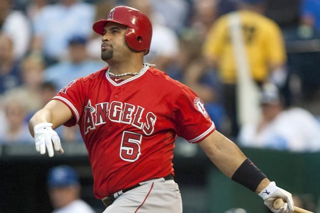 Pujols Returns vs. Rangers