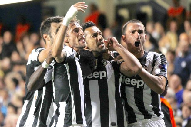 Juventus Show Chelsea It's Not over Until the Old Lady Sings