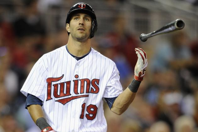 Finger Injury Will Relegate Twins' Darin Mastroianni to Pinch-Running Duty