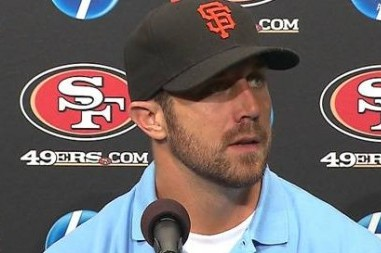 NFL Prevents 49ers' Alex Smith from Wearing San Francisco Giants Hat