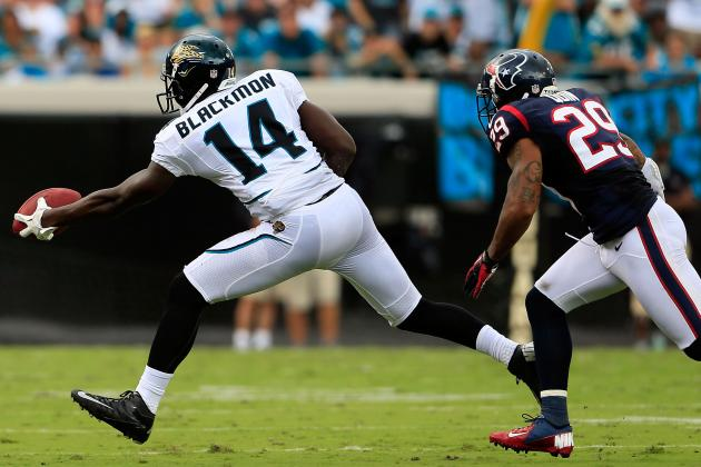 AFC South All-22 Review: Texans Shut Out Jacksonville Jaguars' Justin Blackmon