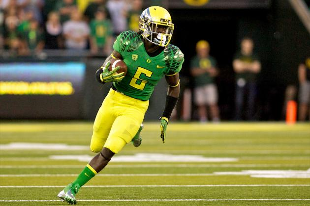 De'Anthony Thomas More Athletic Artist Than Football Player for Oregon Ducks