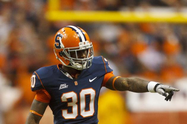 Syracuse Football Punt/kick Returner Steve Rene Is out vs. Minnesota