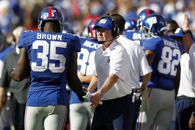 Ahmad Bradshaw Injury: Giants RB's Absence Makes Andre Brown Ideal Spot Start