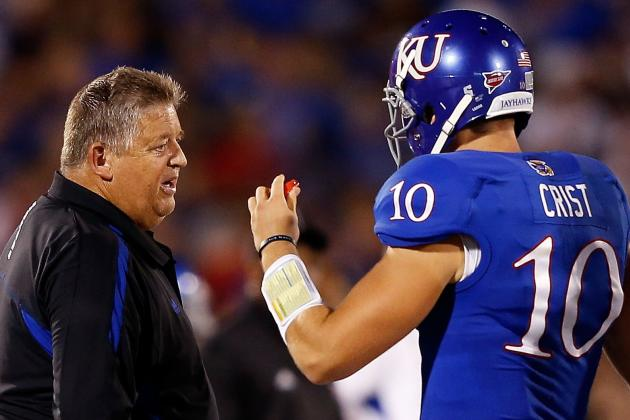 Rock Chalk Jayhawk: Kansas (+9.5) Leads CFB Week 4 Plays Against Spread