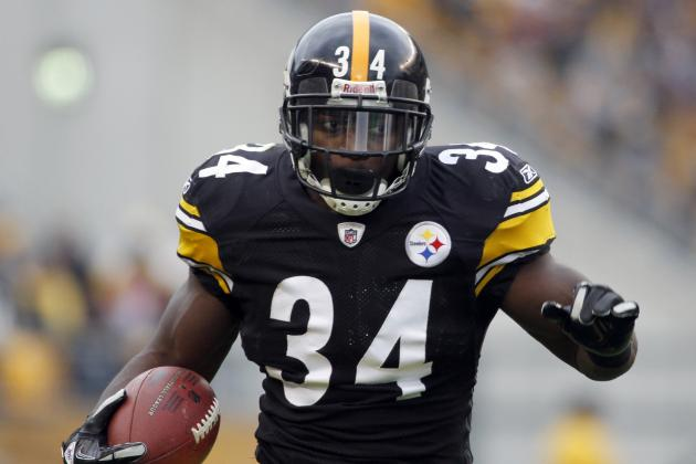 Rashard Mendenhall: Ailing Steelers Need Star RB to Return After Bye Week