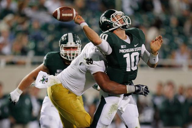 MSU Offense in Search of 'Explosive' Plays, Especially in Passing Game