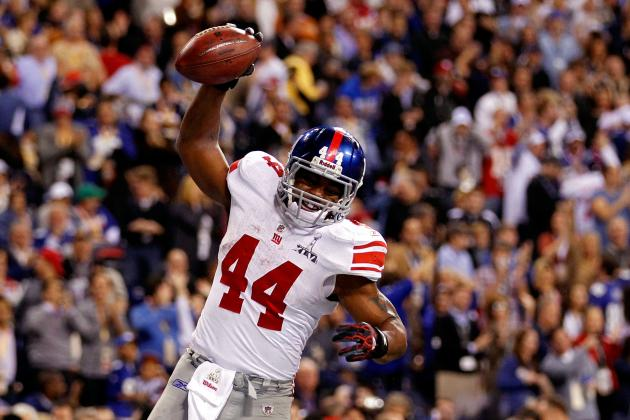 Ahmad Bradshaw: Assessing Giants RB's Fantasy Value for Remainder of Season