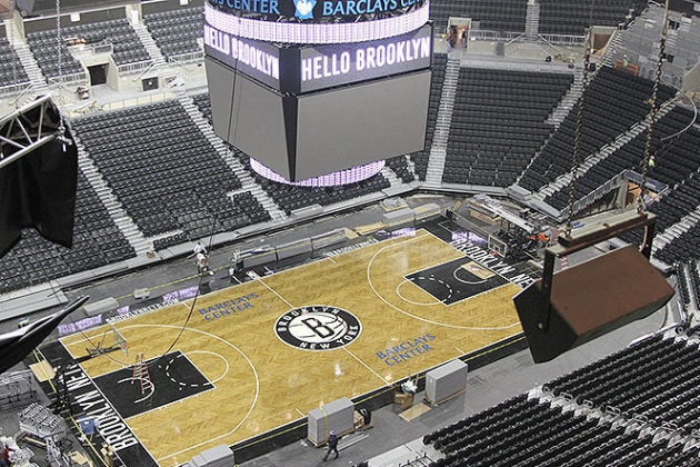 Exploring the Barclays Center and New Home of the Brooklyn Nets