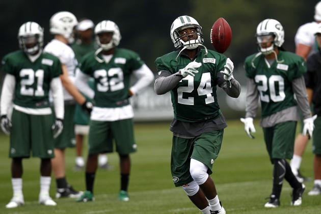Darrelle Revis Cleared for Contact, May Play for New York Jets in Week 3